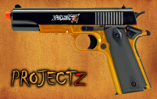 855129384 PROJECT Z in human b-1911 spring airsoft Gun Pistol FPS 345 FREE SHIPPING