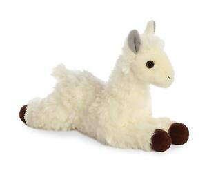 Aurora-World-Mini-Flopsie-White-Cream-Llama-8-034-Plush-Stuffed-Animal-31744