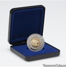 1996 Canada $ 2 Toonie Polar Bear Proof Coin - Box & COA