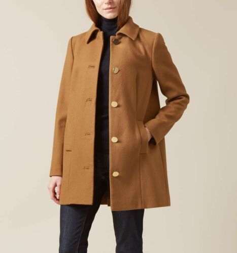 Usa 16 Rrp249 Misura Uk Bnwt Stunning Wool Hobbs 44 Eur Vicuna Coat 12 Highgate gyI7vY6bf