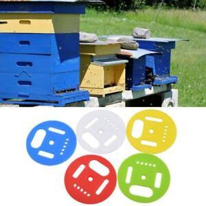 6pcs Hive Door Beekeeping Beekeeper Box Plastic Entrance Disc Bee Nest Gate Fo