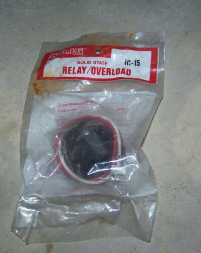 Gemline IC15 Compressor Relay overload Fast Shipping