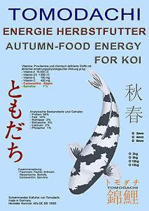 Herbstenergiefutter Koi, Spiruline 7%, nourriture flottante haute énergie, 15kg 4mm