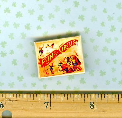 Dollhouse Miniature Vintage Circus POSTER Elephant Rides 1:12 carnival sign