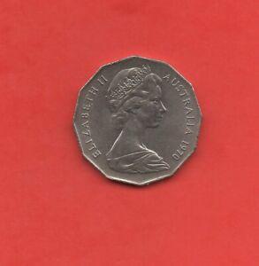 Australien - Captain Cook - Fifty Cent Münze - 1970 (146)