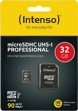 Artikelbild Intenso Micro SD Card 32GB UHS-I Professional inkl. SD Adapter Speicherkarte