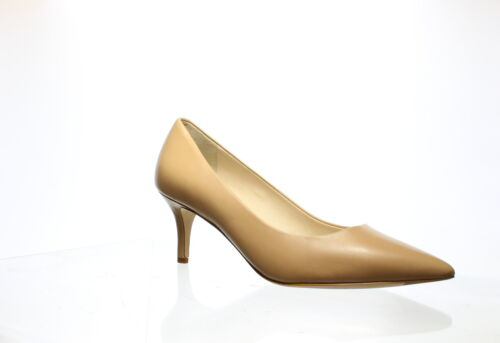 Cole Haan Womens Vesta Nude Leather Pumps Size 7.5