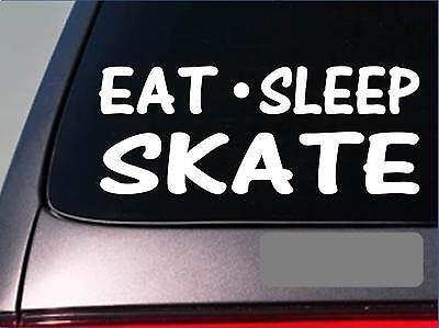 Eat Sleep Hockey Vinyl Decal Sticker Car Truck Window