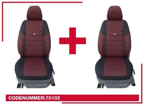 MAßgefertigte Schonbezüge Opel Meriva A Sitzbezüge Fahrer /& Beifahrer 70101