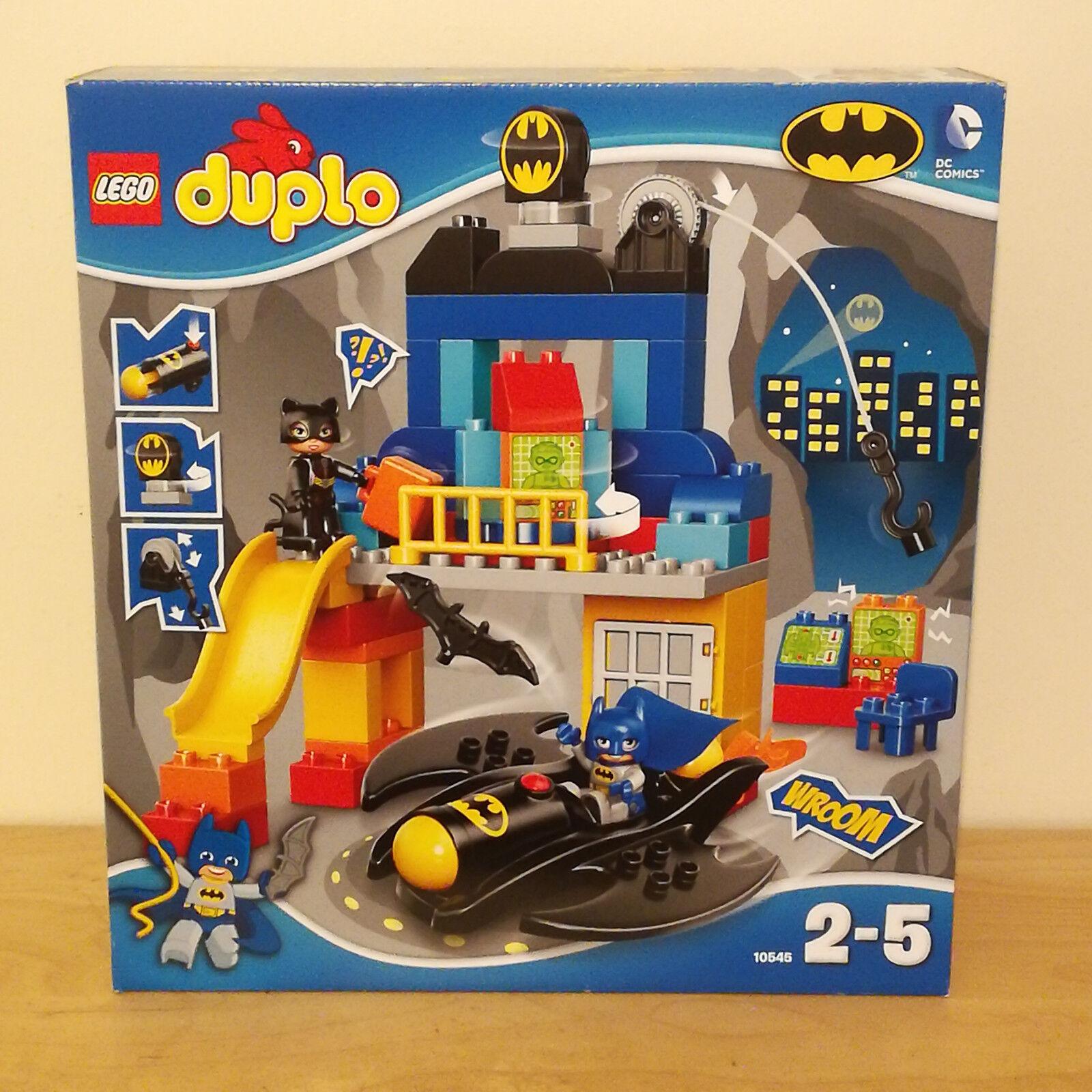 LEGO Duplo Duplo Duplo 10545 BATCAVE ADVENTURE - Brand new includes Catwoman & Batwing f3c2c5