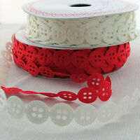Berties Bows Satin Ribbon cutton cut outs per m - colour choices