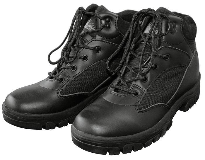 NEU Bergstiefel Semi Cut Outdoor Boots schwarz beige Bergschuhe BW Halbstiefel
