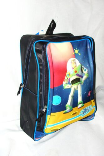 """NEW DISNEY  *TOY STORY 2   BUZZ   PVC  BLACK AND BLUE BACKPACK 16/"""" X 13/"""""""