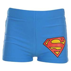 Boys DC Comics Superman Swimming Trunks Shorts Pants