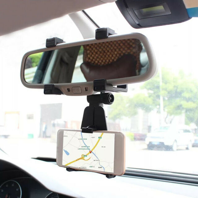 Universal Car Holder Cradle Stand Car Rearview Mirror Mount For Cell Phone GPS