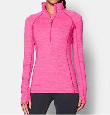 NWT UNDER ARMOUR Women's ColdGear Cozy 1/2 Zip - Rebel Pink size XS 1248526 652