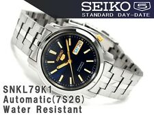 Seiko 5 Men's SNKL79K1 Stainless Steel Automatic 21 Jewels Day Date Watch