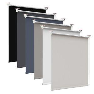 thermo rollo verdunkelungsrollo klemmfix ohne bohren fensterrollo klemmrollo ebay. Black Bedroom Furniture Sets. Home Design Ideas