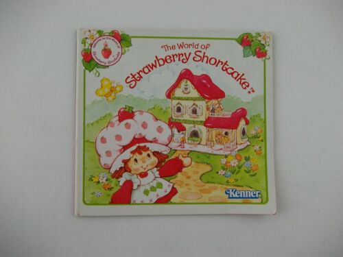 1983 Strawberry Shortcake Doll Mini Catalog by Kenner Pamphlet Brochure World of