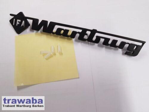 Schriftzug  Wartburg IFA Original DDR
