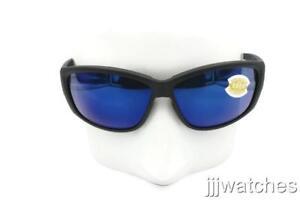 27bc002ef8 New Costa Del Mar Luke Blackout Blue Polarized Sunglasses LK 01 OBMP ...