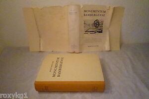 Monumentum Bamberg Sunsense (Bamberg), 1955, 674 pagine