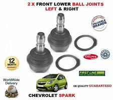 FOR CHEVROLET SPARK 1.0 1.2 2010-> NEW 2 X FRONT LOWER BOTTOM BALL JOINT L+R