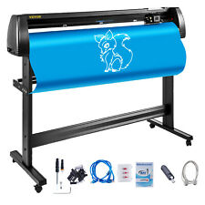 Vevor 53 Vinyl Cutterplotter Sign Cutting Machine Software 3 Blades Lcd Screen