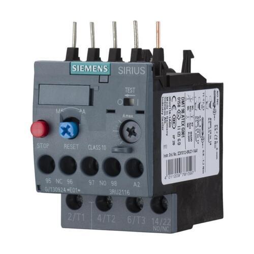 Siemens 3RU2116-0HB0 CLASS 10 Thermisches Überlastrelais 0,55-0,8 A S00