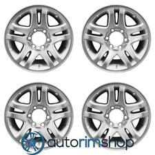 New 17 Replacement Wheels Rims For Toyota Sequoia Tundra 2003 2007 Set Silve Fits 2004 Toyota Tundra