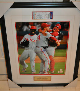 Roy Halladay Philadelphia Phillies Signed 16x20 Frame