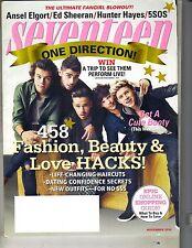 ONE DIRECTION Seventeen Magazine 11/14 ANSEL ELGORT ED SHEERAN HUNTER HAYES