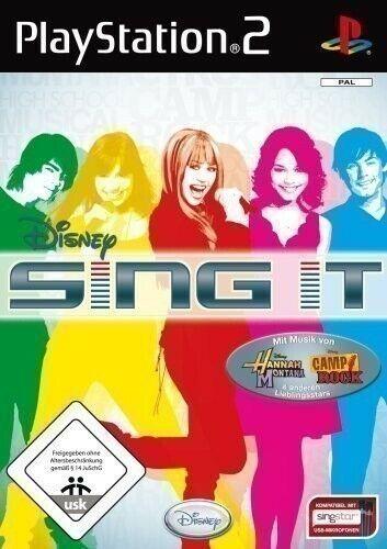 PS2 / Sony Playstation 2 jeu - Disney Sing it NEUFS & AVEC L'EMBALLAGE