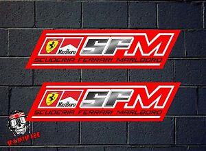 Details About Pegatina Sticker Autocollant Adesivi Aufkleber Decal Scuderia Ferrari Marlboro