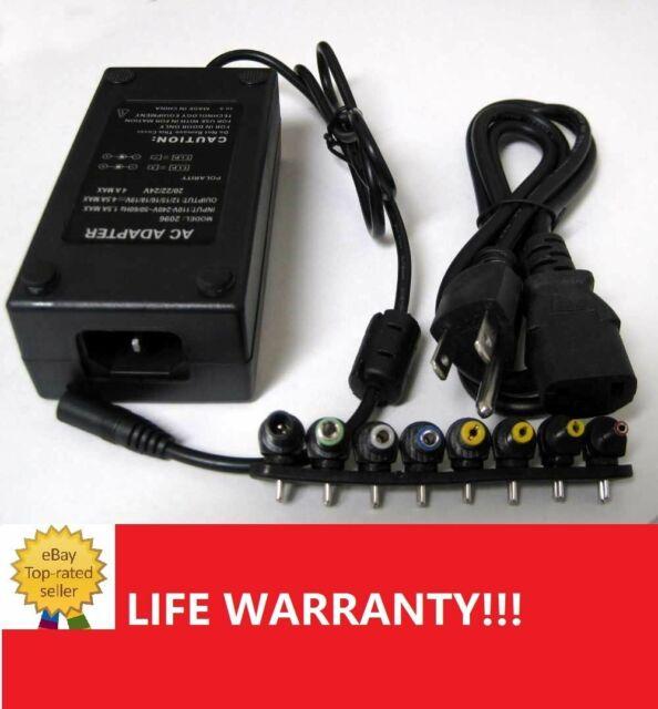 96W Universal Laptop Power Supply 110-220v AC To DC 12V//16V//20V//24V Adapter