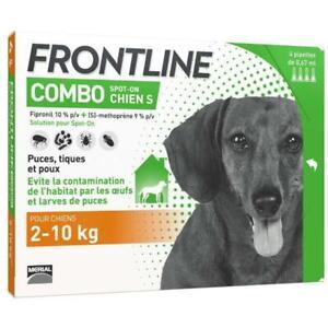 FRONTLINE Combo chien - 2-10kg - 4 pipettes