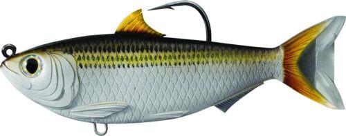 "7//0 Hook M SDS115MS720 4 1//2/"" 1 oz Silver//Bronze LiveTarget Sardine Swimbait"