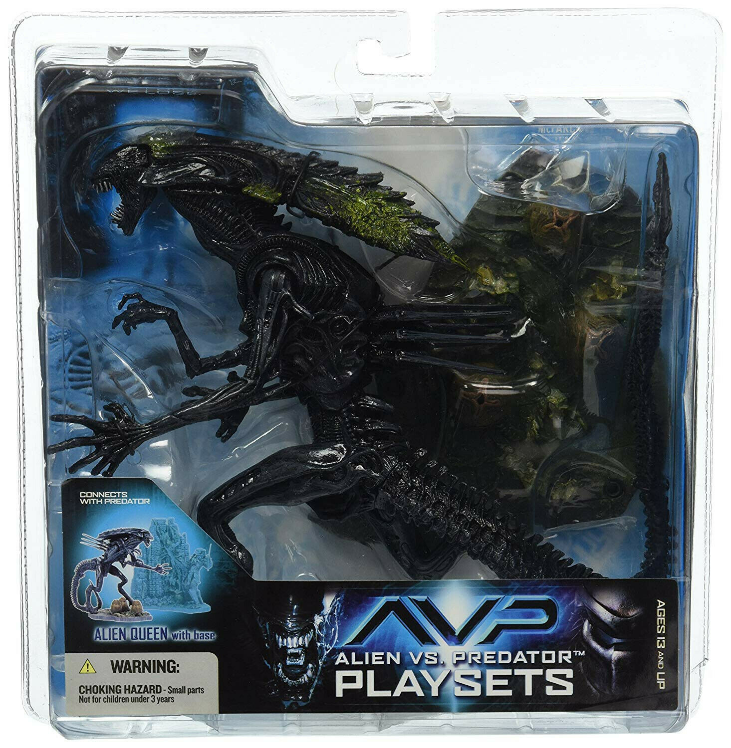 McFarlane Alien vs Protator Playset Alien Queen with Base