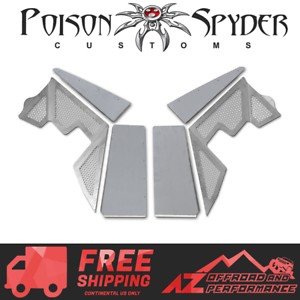 Poison Spyder DeFender XC Vented Front Inner Fender Kit For 97-06 Jeep Wrangler