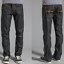 Nudie-Herren-Regular-Straight-Fit-Jeans-Hose-B-Ware-Neu-Blau-Schwarz Indexbild 28