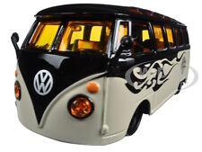 """4,5/"""" Die Cast ca Beige Volkswagen Van /""""Samba/"""" Maisto 21205"""
