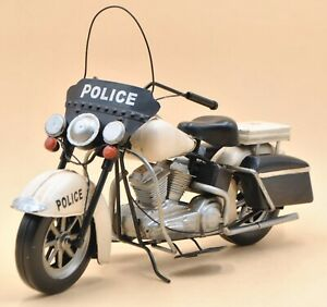 Vintage Collector Edition Police Motorcycle Motorbike Bike Sculpture Statue Sale Ebay