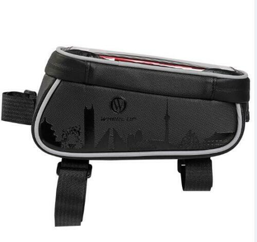 Waterproof Cycling Bike Bicycle Triangle Frame Front Pannier Tube Bag For Phone