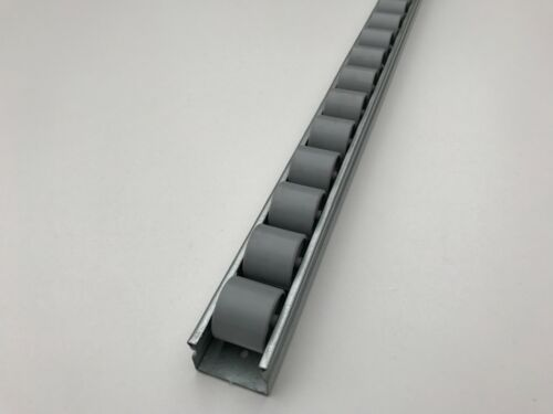 roller track flow rail roller gravity conveyor with plastic wheels dia 28 mm