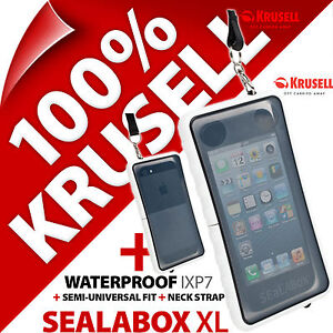 New-Krusell-Sealabox-XL-Waterproof-Mobile-Phone-Case-Cover-Pouch-Underwater