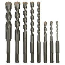 Sabre Tools 8 Piece Sds Plus Drill Bit Set Carbide Tipped Rotary Hammer Drill