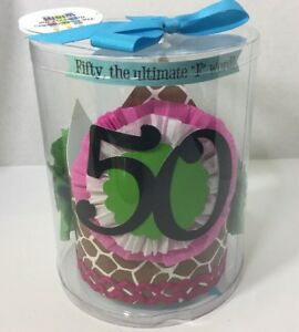 Image Is Loading Mud Pie Fiftieth Birthday Hat Happy Party