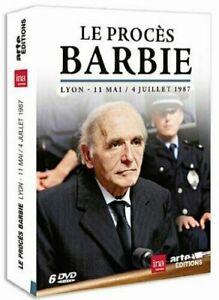 DVD-Le-proces-Barbie-Lyon-11-mai-au-4-juillet-1987-6-dvd-Dominique-Mis