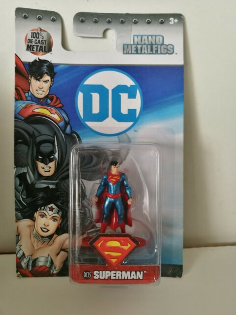 Nano Metalfigs - Superman DC15 - Cast-Figur - Neu / OVP  Die-Cast Metal