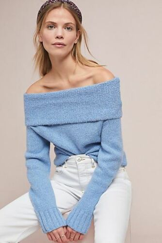 Nwt Natalia Off The Shoulder Sweater by Anthropologie